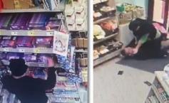 """Oamenii intraseră în supermarketul din Timișoara. Au crezut că au greșit locul. Total neașteptat ce se întâmpla acolo. O cameră de supraveghere a surprins totul (VIDEO)"""""""