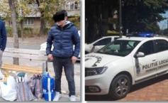 """Polițiștii din Timișoara au văzut doi tineri stând pe o bancă. Au observat un detaliu neașteptat și s-au apropiat. Atunci au înțeles cine erau bărbații"""""""