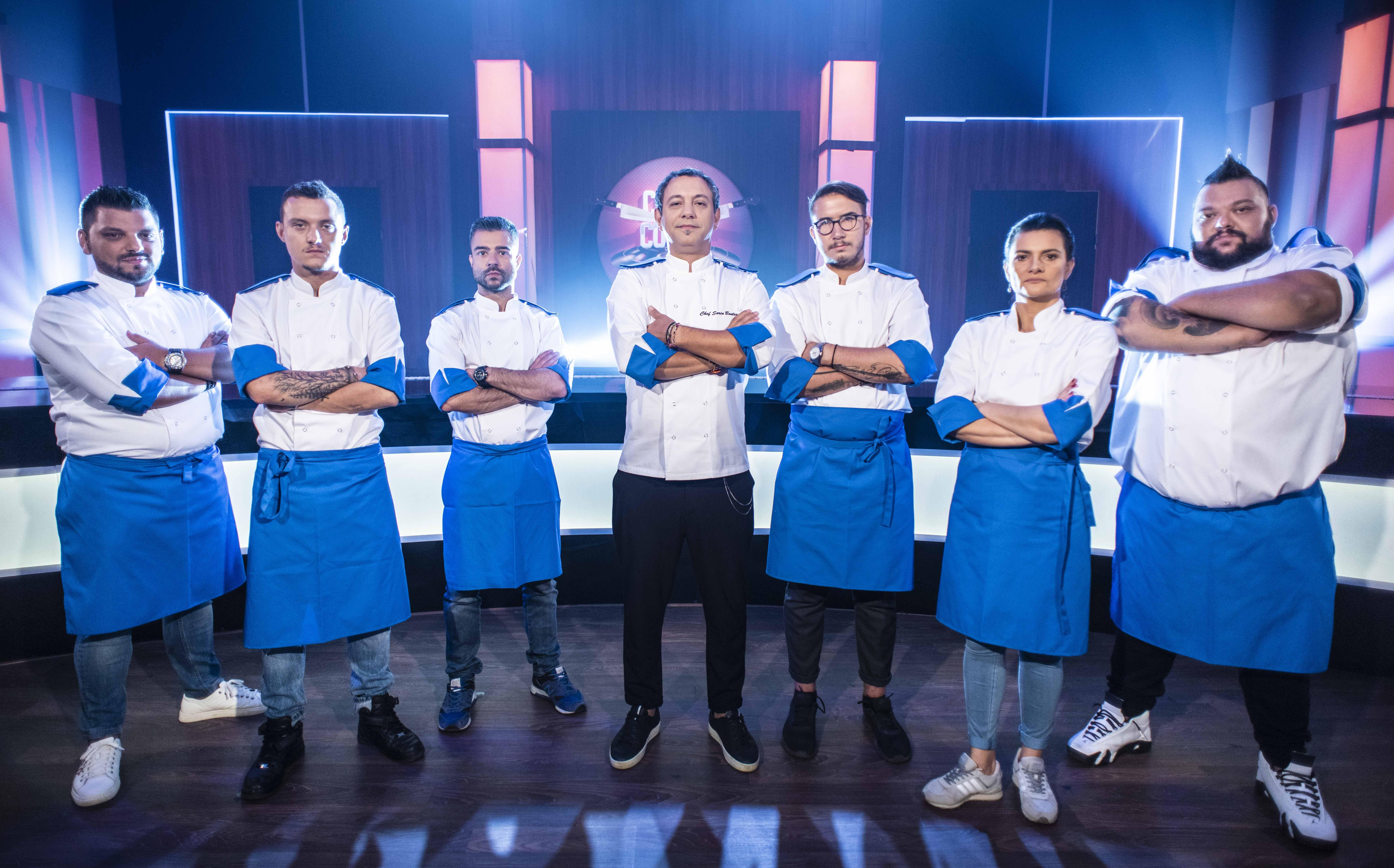 Chef Bontea și-a ales echipa albastră! Cine sunt bucătarii cu care pornește la luptă: