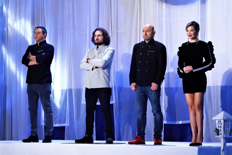 """Valentin Butnaru și Olivia Păunescu au plecat de la pupitrul știrilor și au venit să facă spectacol la """"Chefi la cuțite"""""""