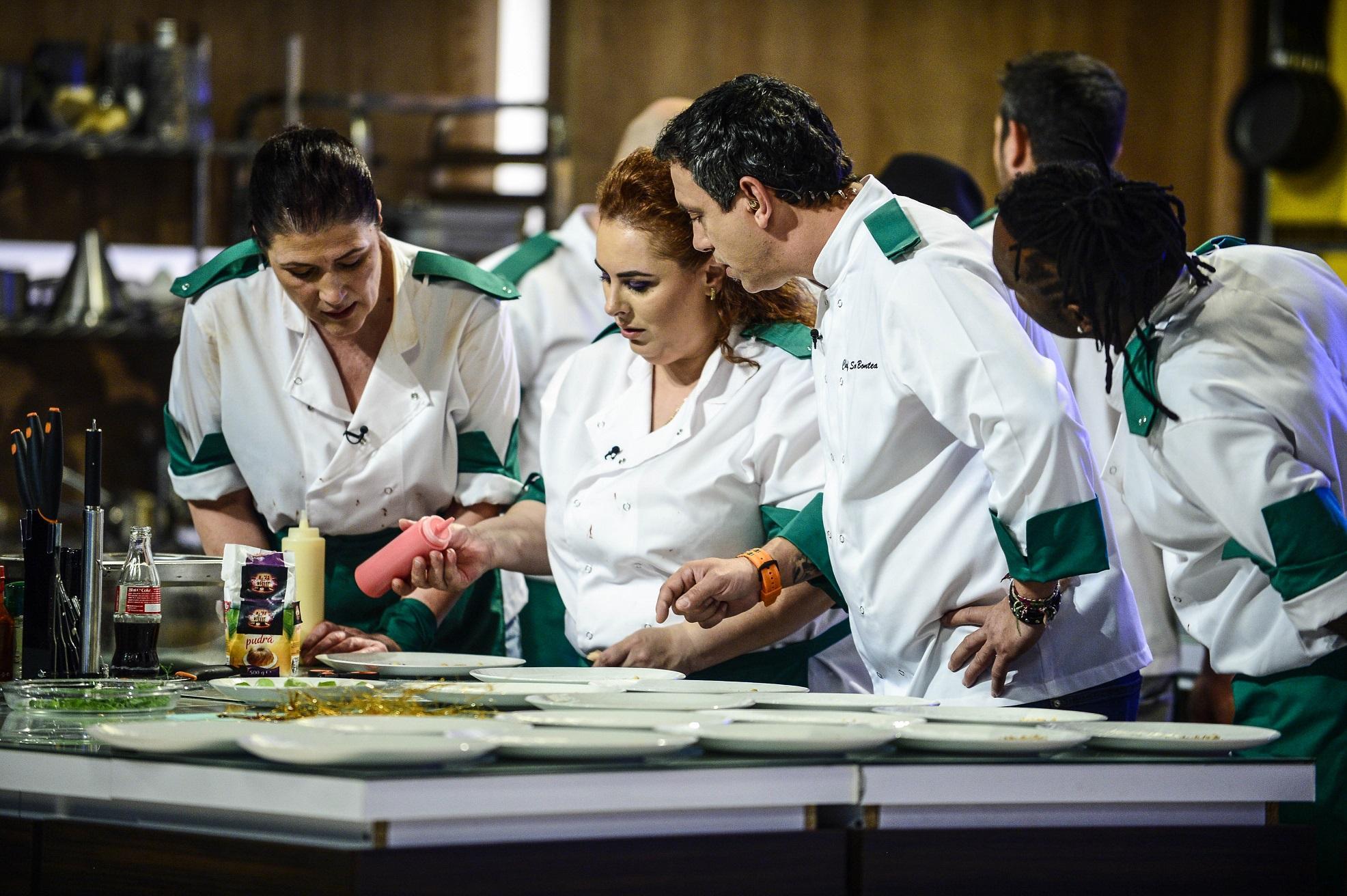 Chef Bontea stabilește specificul farfuriilor în cea de-a doua confruntare pe echipe