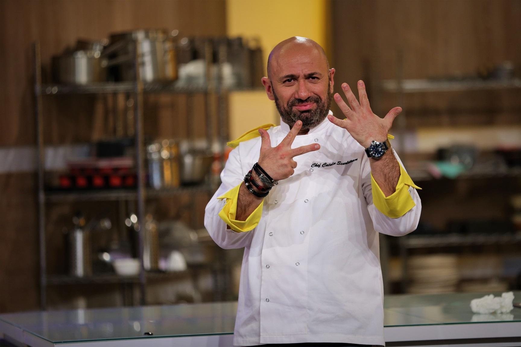 """Eliminare dublă la """"Chefi la cuțite"""" pentru Sorin Bontea și Florin Dumitrescu. Show-ul, lider de piață pe toate categoriile de public"""
