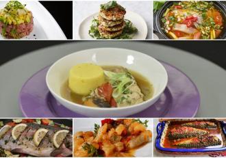 Rețete cu pește. Șapte rețete cu șapte sortimente de pește, perfecte pentru zilele din post cu dezlegare la pește.