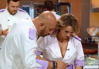 """Ups! Chef Cătălin Scărlătescu l-a făcut gelos pe soțul Amaliei? """"Mă gândeam că poate mă vede!"""