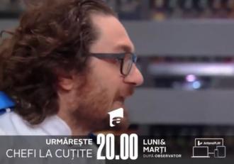 VIDEO! Se încinge atmosfera la Chefi la cuțite, cu cea mai aprinsă ceartă de până acum. Chef Sorin Bontea și Florin Dumitrescu și-au spus totul