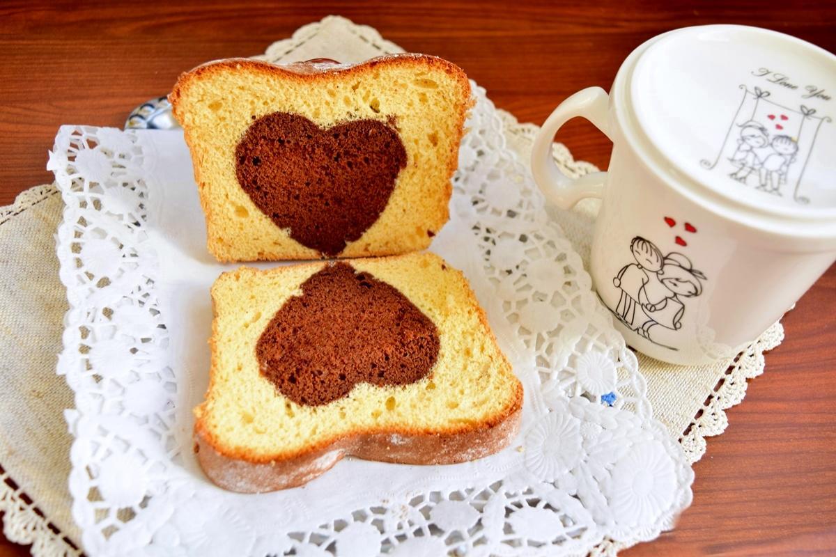 Rețetă de Dragobete: Chec cu inimioară de cacao