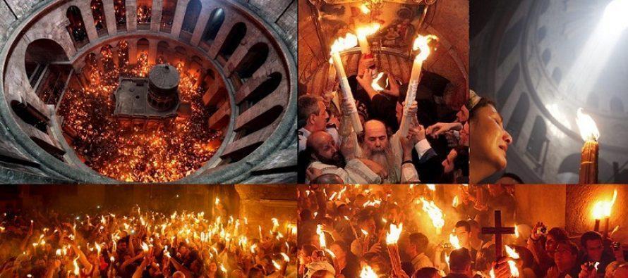 Paște 2019. Ce se întâmplă cu preoții care iau Lumina Sfântă pentru Paști. Mărturisiri cutremurătoare ale celor care au fost acolo!