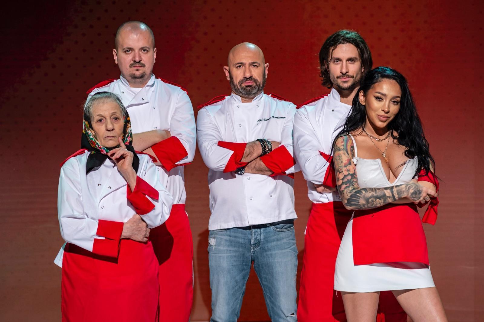 Sorin Bontea, Florin Dumitrescu și Cătălin Scărlătescu și-au ales echipele sezonului special Chefi la cuțite