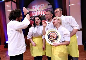 Familia Băitoi a câștigat sezonul special Chefi la Cuțite. Chef Florin Dumitrescu e învingător!