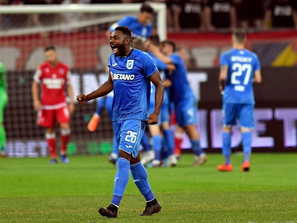 Universitatea Craiova a învins în deplasare Dinamo