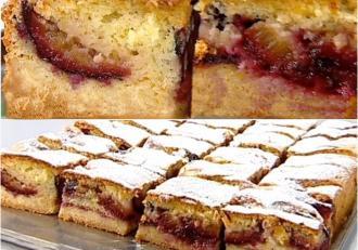 Cum preparăm cea mai delicioasă prăjitură de toamnă cu prune!