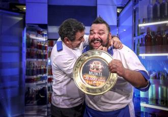 Munti, câștigătorul Chefi la cuțite, a ajuns o umbră! A slăbit 50 de kilograme și nu se oprește!