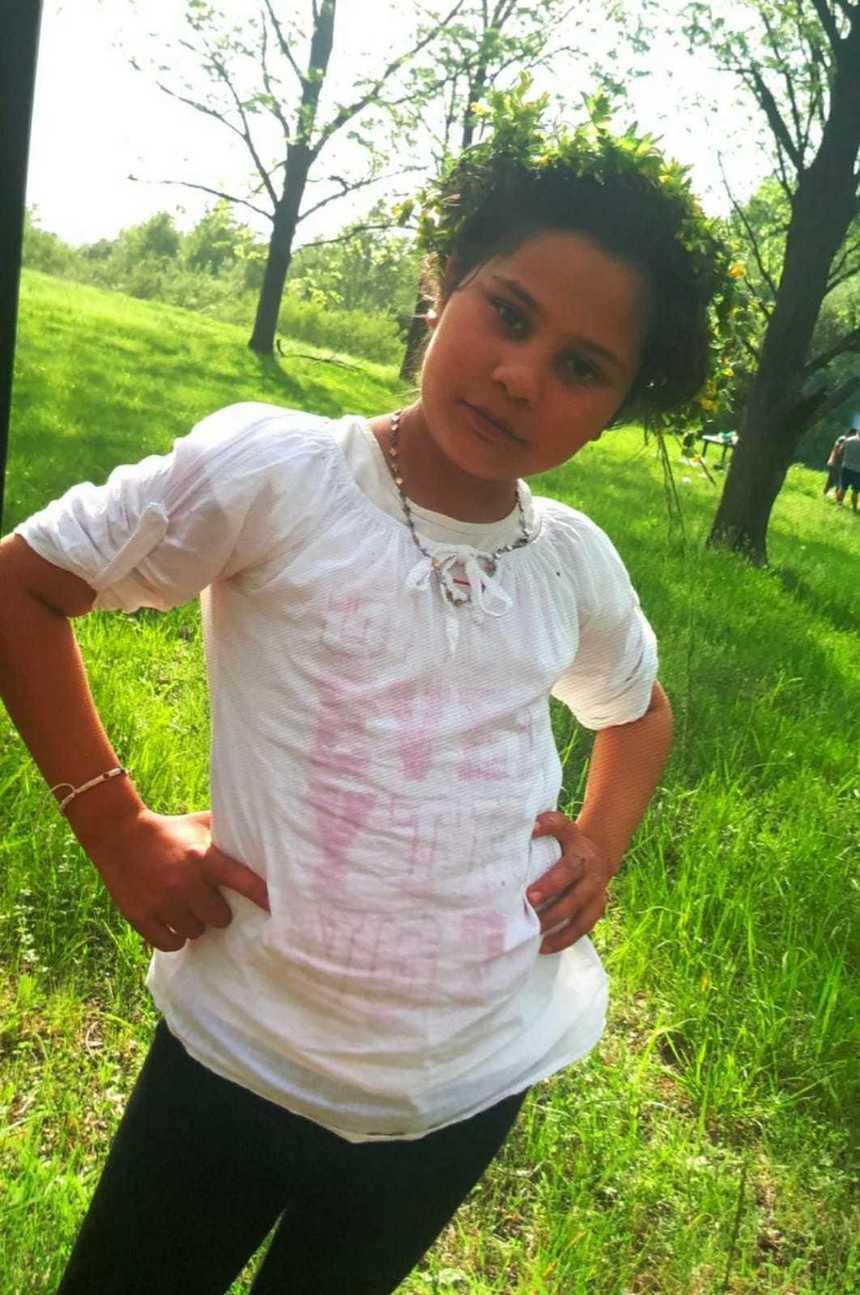 Mihaela, 11 ani, a dispărut de acasă! Familia este disperată