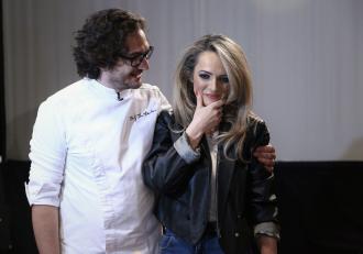 Gest romantic pentru soția lui chef Florin Dumitrescu, pe platoul Chefi la cuțite