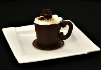 Coffee cake în formă de cană. Desert de senzație la Chefi la cuțite