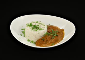 Chicken tikka butter masala. Rețetă din bucătăria indiană