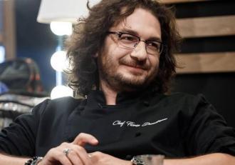 Cum arată Chef Florin Dumitrescu în 2009. Imagine rară din arhiva personală