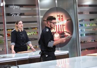 Chefi la cuțite 2020. Ionuț Belei și-a folosit amuleta și a blocat concurenți! Probă incredibil de grea, la duel