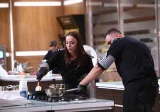 """Ce relație este între Lavinia Ilcău și Paul Maxim de la """"Chefi la cuțite"""", de fapt: """"Nu neg lucrul acesta"""""""