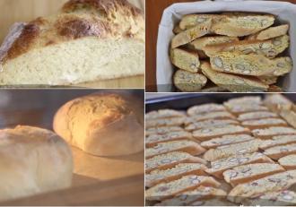 Rețetă de Pâine cu cartofi și Rețetă de Biscuiți cu migdale. Două rețete delicioase cu reușită sigură