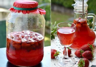Cum preparăm în casă Căpșunată sau Lichior de căpșuni