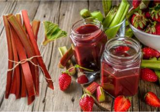 Cum se prepară cel mai fin și delicios gem de rubarbă și căpșuni fără semințe