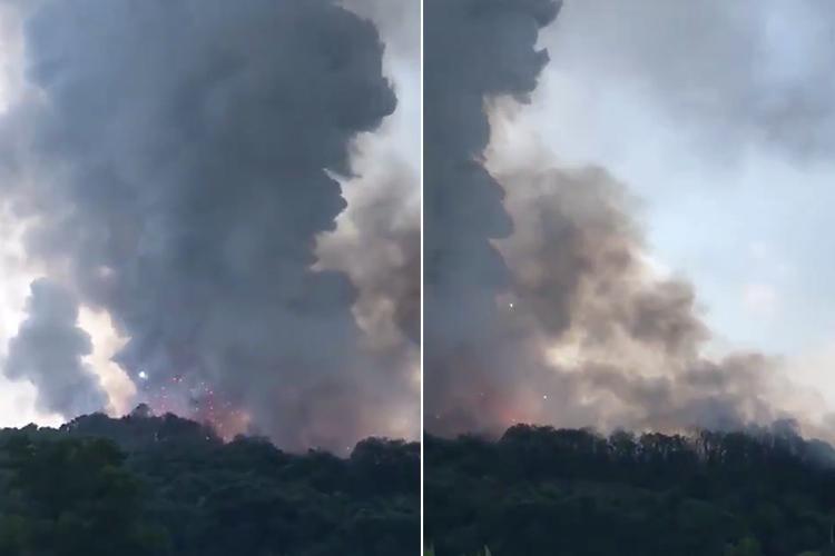 Explozie într-o fabrică de artificii. Sunt 2 morți și 73 de răniți