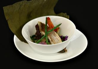 Thay curry cu dorada. Rețetă inspirată din bucătăria asiatică