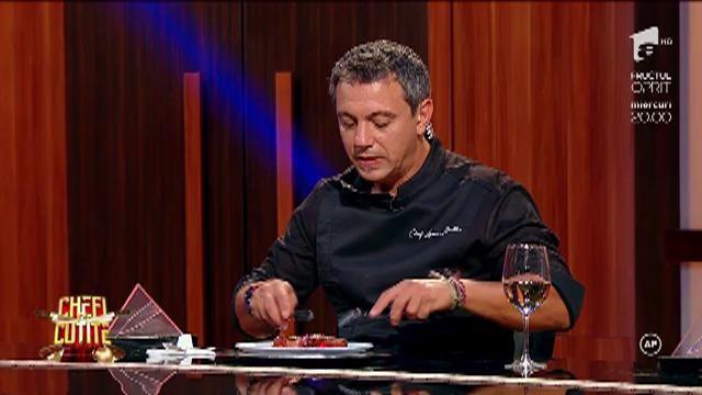 """Alexandru era să leșine de emoție și a făcut o dezvăluire incredibilă! Ce dans secret au bucătarii?! """"Uga, uga, uga chaka"""""""