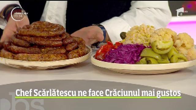 Crăciun la cuțite cu chef Scărlătescu: