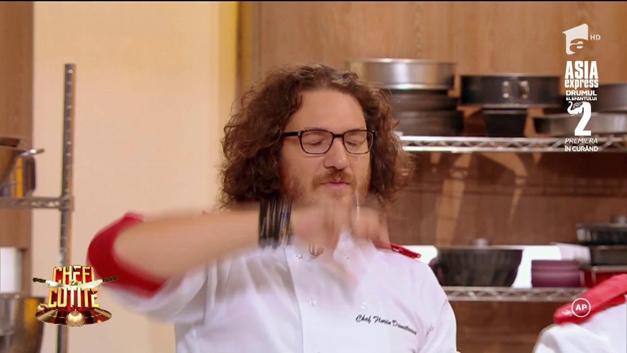 Ce voce are Chef Sorin Bontea! Juratul a făcut o super dedicație muzicală