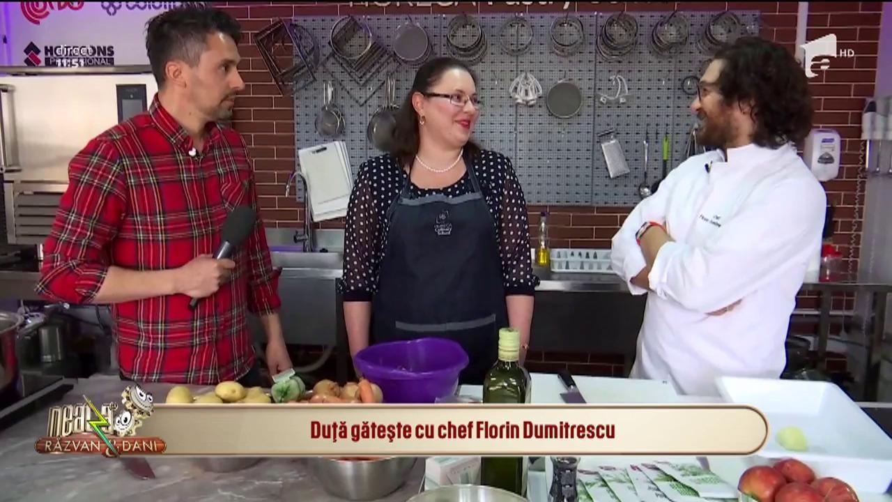 În două săptămâni încep filmările pentru noul sezon! Chef Florin Dumitrescu, sesiune de cooking alături de câștigătoarea din aplicația