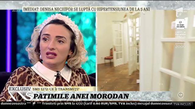 """Ana Morodan, în lacrimi, în direct, la TV: """"Să fii femeie și să o iei de la zero e al dracului de greu!"""""""