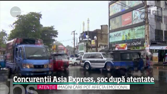 Sri Lanka. 215 morți și peste 500 de răniți. După atentate, concurenţii Asia Express sunt în lacrimi