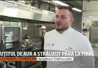 """Povestea câștigătorului """"Chefi la cuţite"""