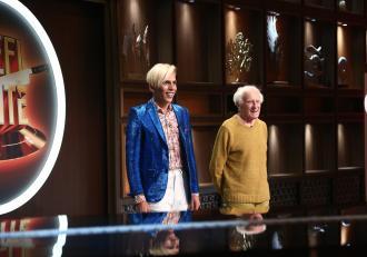 """Florin Marin și partenerul său  de 81 de ani au făcut show la """"Chefi la cuțite""""! Dezvăluirile britanicului despre român"""
