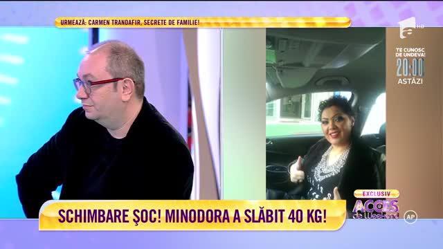Cum a slăbit, de fapt, Minodora, aproape 40 de kilograme. Ce picături a folosit - IMPACT