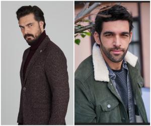 """Cum se distrează Halil İbrahim Ceyhan și Melih Özkaya din """"Moștenirea"""" pe platourile de filmare. Cei doi actori sunt prieteni foarte buni"""