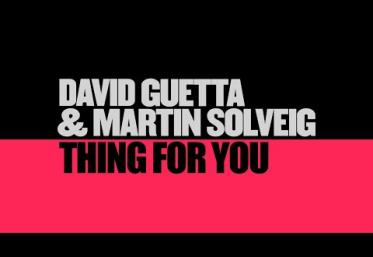 David Guetta & Martin Solveig - Thing For You | lyric video